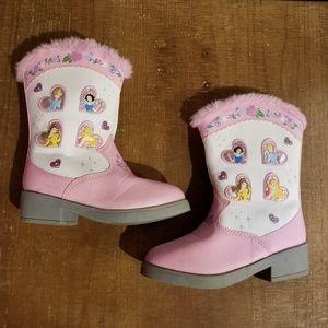 Disney Lightup Boots Size 7 Toddler Cowboy